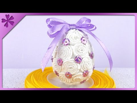 DIY Pisanka z bibuły / Tissue paper Easter Egg (+ENG Annotations) - Na szybko #77