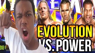 getlinkyoutube.com-Evolution (Randy Orton, HHH & Batista) vs. Will POWER! (WWE 2K14)