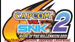 getlinkyoutube.com-Capcom Vs SNK 2 Japanese Version PlayStation Network Download Review With Commentary