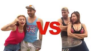 PAMELA SAFITRI TERBARU Mandi Susu Di Pantai #Vlog4