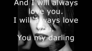 getlinkyoutube.com-Whitney Houston - I Will Always Love You - Lyrics