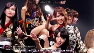 getlinkyoutube.com-Kamen Rider Girls E-X-A (Exciting x Attitude) Official Music Video