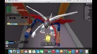 getlinkyoutube.com-ROBLOX | Digimon Aurity - Glitch | Admin Room