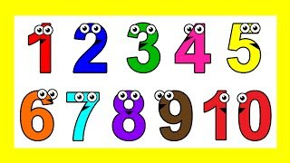 """getlinkyoutube.com-""""Sing to 10"""" - Learn Counting Numbers 1 to 10, Baby Toddler Learning Nursery Rhymes"""