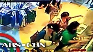 Modus ng mga snatcher sa mall, huli sa CCTV