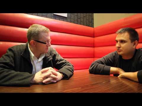 Grzegorz Braun rozmawia z Przemyslawem Holocherem