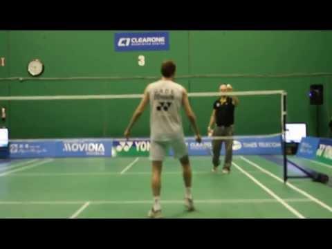 Peter Gade Trick Shots Part 2 - ClearOne Badminton Centre