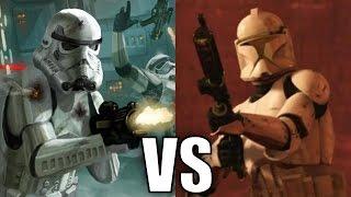 getlinkyoutube.com-Stormtroopers vs Clone Troopers (Phase 1)
