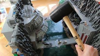 getlinkyoutube.com-LEGO Star Wars DEUTSCH Base Destruction in Slow Motion