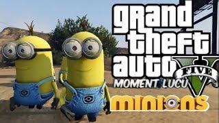 MINIONS MOD! | GTA 5 Mod Moment Lucu (Bahasa Indonesia)