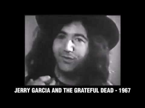 Jerry Garcia with The Grateful Dead -1967