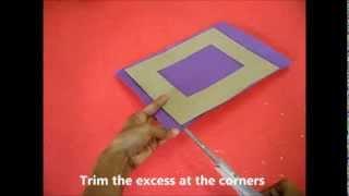 getlinkyoutube.com-Lanterns & Photoframes: DIY Cardboard Photoframe