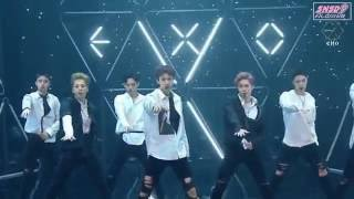160820 [HD/Viewable] EXO (엑소) - Louder 라우더 / Lotto (ComeBack Stage) @ MC0r3