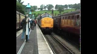 getlinkyoutube.com-North Yorkshire Moors Railway Diesel Gala 2013 Friday 13th September