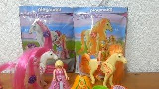 getlinkyoutube.com-Playmobil Princess Pferd mit Haare zum kämmen Neuheit Viola Luna