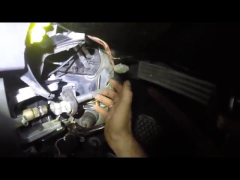 Замена крестовины на рулевом валу BMW E39