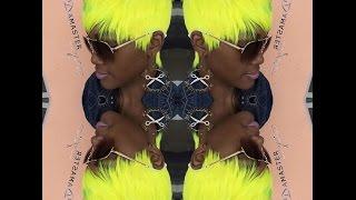 getlinkyoutube.com-Neon yellow! Quick weave (short cut)