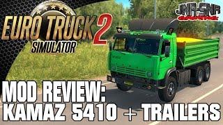 getlinkyoutube.com-Euro Truck Simulator 2 Kamaz 5410 + Trailers   ETS 2 MODS