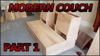 getlinkyoutube.com-Making a Modern Couch | 1