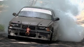 getlinkyoutube.com-7 Curve Drift & Rally Show 2014