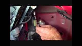 getlinkyoutube.com-How to Lexus SC430 Car radio Power Antenna Repair broken replace