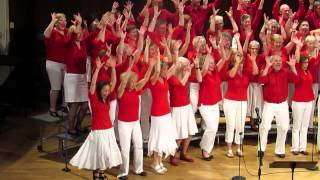Victoria Soul Gospel Choir sings The Spirit of the Lord is Coming Down 2014