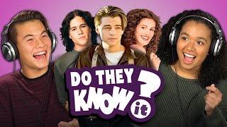 getlinkyoutube.com-DO TEENS KNOW 90's ROMANCE MOVIES? (REACT: Do They Know It?)
