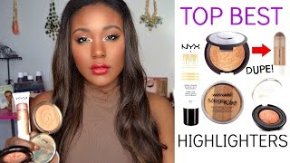 getlinkyoutube.com-BECCA Highlight DUPE?! BEST DRUGSTORE HIGHLIGHTERS EVER!!! Primer, Cream, Powder + MORE