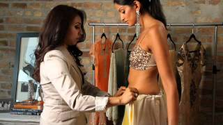 getlinkyoutube.com-Luxemi's Guide to Sari Draping: The Siren