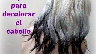getlinkyoutube.com-Tips para decolorar el cabello y no fallar en el intento :D