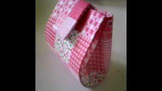 getlinkyoutube.com-Como fazer um lindo porta moedas feito com caixa de leite