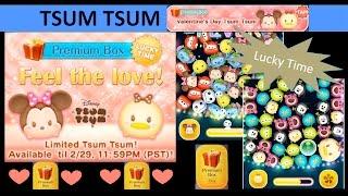 getlinkyoutube.com-Tsum Tsum Valentine Minnie Valentine Daisy Tsum Tsum (Lucky Time Feel the Love) Gameplay PBO #18