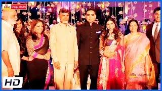 getlinkyoutube.com-Celebrities At K Raghavendra Rao Son Wedding Reception