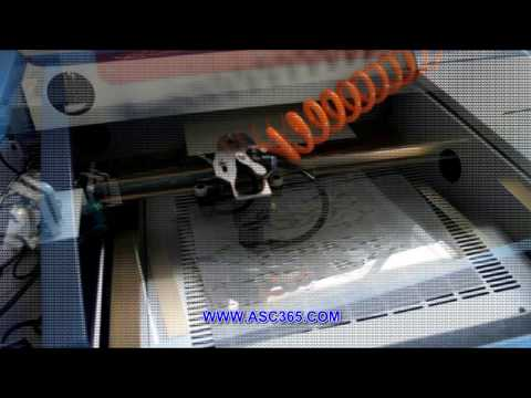 CO2 Multifunction Laser Engraving Cutting Machine with Platform