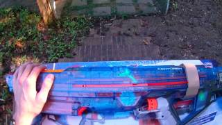 Honest Review: Nerf Sonic Ice Centurion (complete unboxing and firing demo)