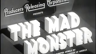 getlinkyoutube.com-The Mad Monster (1942) [Horror] [Drama]