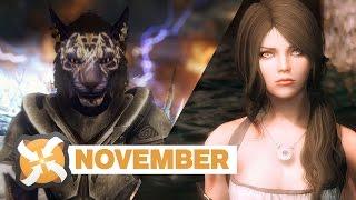 """getlinkyoutube.com-Top Skyrim Mods for November • """"Files of the Month"""""""