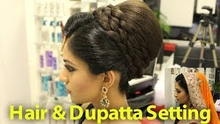 getlinkyoutube.com-TUTORIAL: Indian, Pakistani, Asian Bridal Hair Style