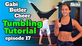 getlinkyoutube.com-Tumbling Tutorial   Episode 17   Gabi Butler Cheer