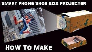 getlinkyoutube.com-Turn Your Shoe Box Into Smartphone Screen Projector Enjoy The Movies