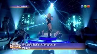 getlinkyoutube.com-Griselda Siciliani es Madona, Bogue - Tu Cara me Suena 2014