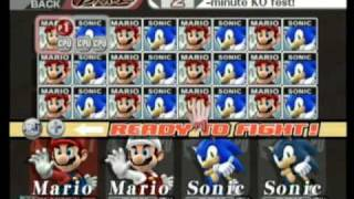 getlinkyoutube.com-[Brawl Hacks] Mario & Sonic at the Brawl Games - WTF?