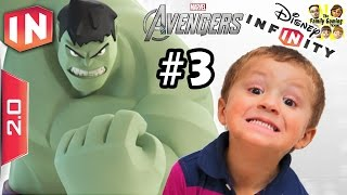 getlinkyoutube.com-The Avengers Play Set - Part 3: HULK IN THE HOUSE!!!!! Disney Infinity 2.0 (Dad & Chase Commentary)
