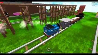 getlinkyoutube.com-ROBLOX Thomas and Friends Made Up Accidents