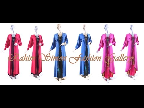 Islamic Fashion Jubah Lycra