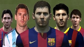 getlinkyoutube.com-Lionel MESSI from FIFA 06 to FIFA 15