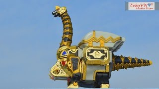 getlinkyoutube.com-[TMT][177] Review DX Bakuryuu Brachiosaurus! Bakuryuu Sentai Abaranger! DX 爆竜戦隊アバレンジャー!