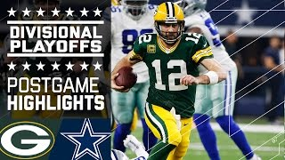 getlinkyoutube.com-Packers vs. Cowboys | NFL Divisional Game Highlights