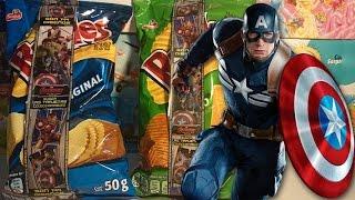 Papas Ruffles con Tarjetas Coleccionables de Avengers La Era de Ultrón Sabritas