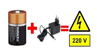 getlinkyoutube.com-بسهولة أحصل على كهرباء 220 فولت قوي وثابت فقط من بطارية 12 فولت